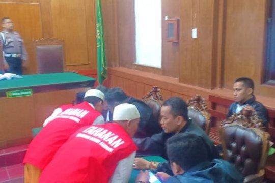 Satu terdakwa pembakaran polsek ajukan penangguhan penahanan