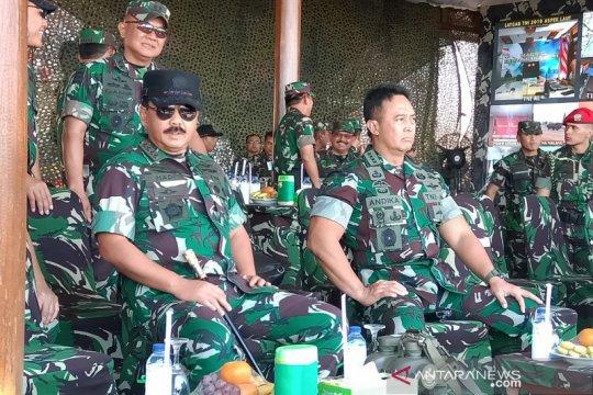 Panglima TNI tinjau persiapan Fire Power Demo 2019 di Situbondo