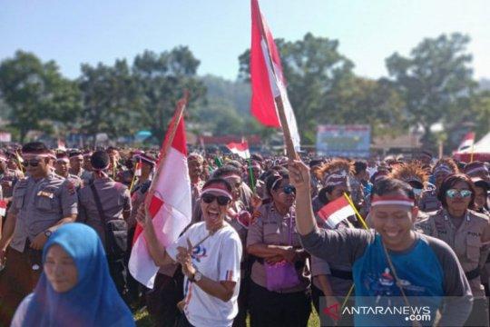 Papua Terkini - Warga dukung Deklarasi Damai Manokwari