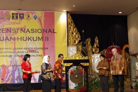 Organisasi bantuan hukum di Indonesia meningkat 30 persen