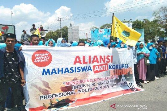 Mahasiswa Kendari deklarasi dukung revisi UU KPK