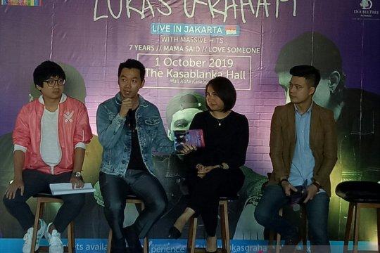 Lukas Graham siap tampil perdana di Indonesia