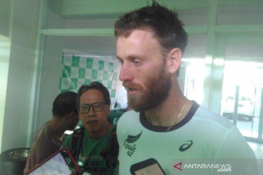Pemain Selandia Baru tidak terganggu dengan suhu panas di Jakarta