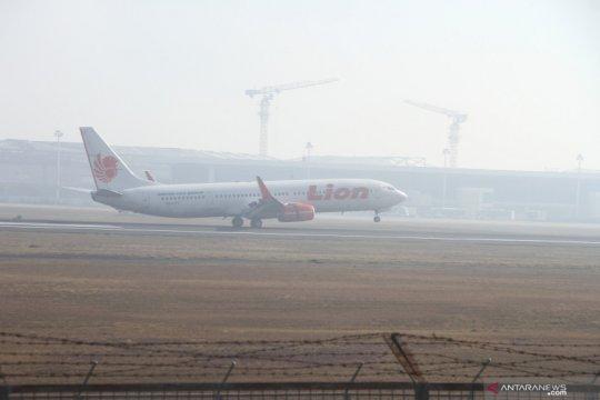 Sejumlah penerbangan Lion Air Group terdampak kabut asap