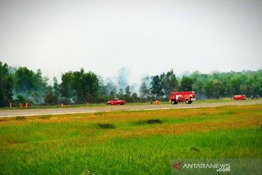 Kebakaran mulai rambah lahan sekitar Bandara H Asan Sampit