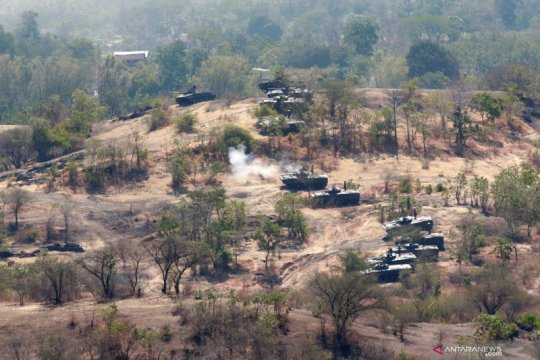 "Wiranto: Latihan Gabungan TNI ""Dharma Yudha 2019"" membanggakan"