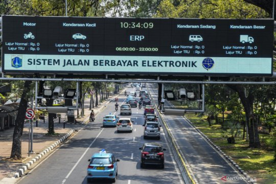 DKI Jakarta terapkan jalan berbayar mulai tahun depan