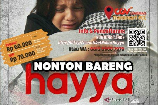 ACT Sumsel ajak masyarakat peduli Palestina dengan nonton Hayya