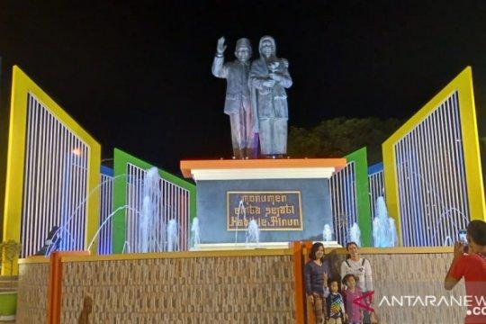 Monumen Ainun-Habibie di kota Pare-pare