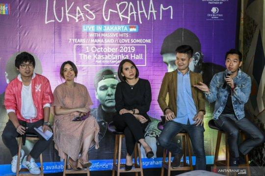 Grup musik Lukas Graham akan pentas di Jakarta 1 Oktober mendatang