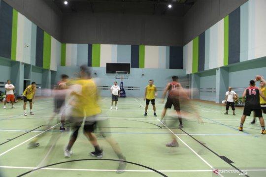 Timnas Basket Indonesia berlatih jelang SEA Games Filipina