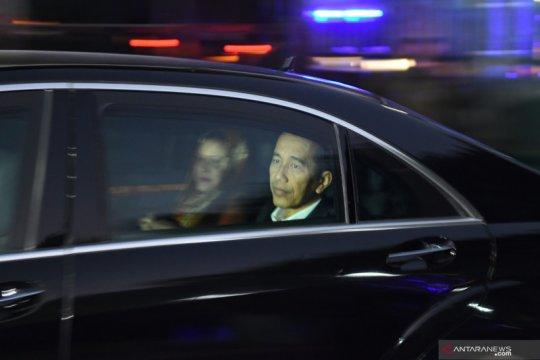 Presiden tiba di RSPAD Jakarta