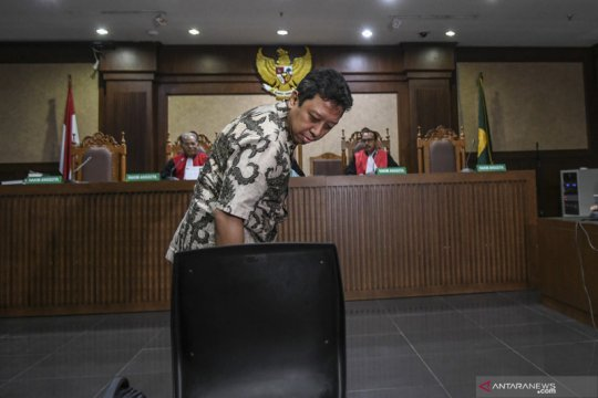 Sidang dakwaan mantan Ketua Umum PPP Romahurmuziy