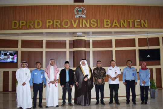 Dubes Arab Saudi temui Ketua DPRD Banten bahas kerja sama