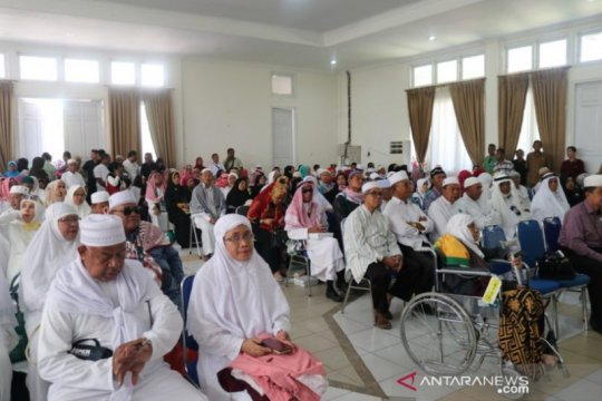 Sudah kembali dari Tanah Suci ratusan jamaah haji asal Kota Kupang