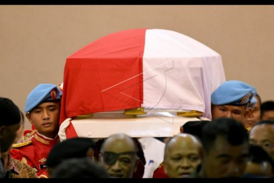 Habibie Wafat - RSPAD sepi usai jenazah diantar menuju rumah duka