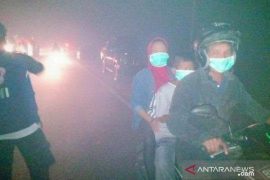 Satgas Kekeringan Babel bagikan 1.000 masker