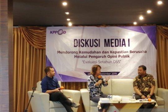 KPPOD rekomendasikan pemerintah tinjau ulang regulasi OSS