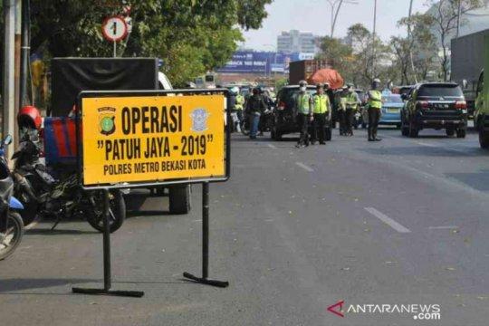 Kepolisian Bekasi jaring 6.377 pengendara dalam operasi Patuh Jaya