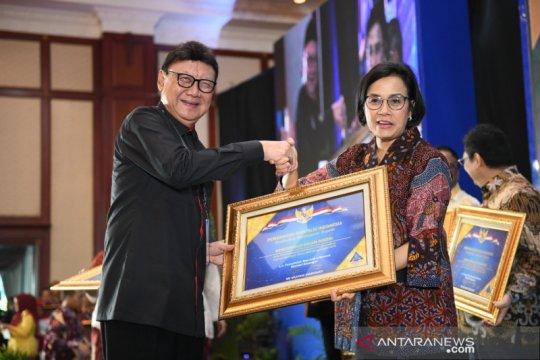 Kemendagri dan BNPP raih penghargaan WTP dari Kemenkeu