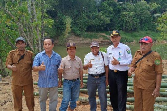 Dua desa di Kutai Timur gunakan dana desa buat jalan