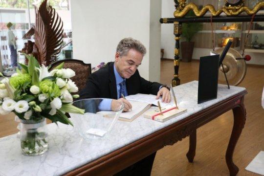 Wakil Dubes Argentina ucapkan duka cita di KBRI Kuala Lumpur