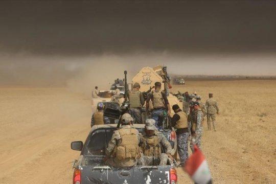 "Hasdh Ash-Shaabi tembak-jatuh ""drone"" tak dikenal di Irak"