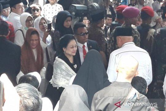 Megawati dan SBY hadiri pemakaman B.J. Habibie