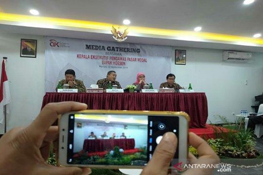 Investor pasar modal di Sumut masih 0,68 persen dari jumlah penduduk