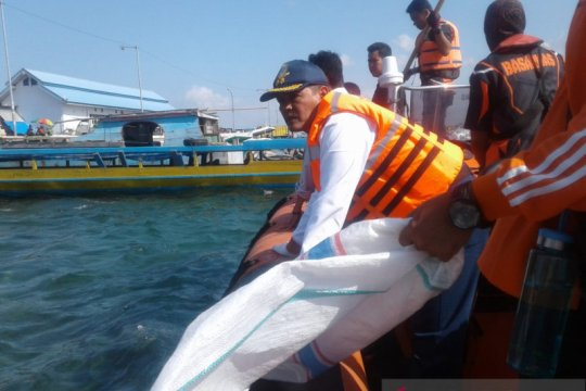 Laut dan pantai di Baubau dibersihkan ratusan warga