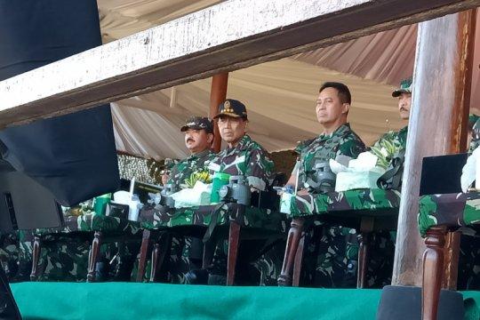 Wiranto gantikan Jokowi hadiri puncak latihan gabungan TNI 2019