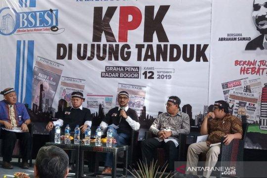 Revisi UU KPK, Abraham Samad sampaikan kekhawatiran