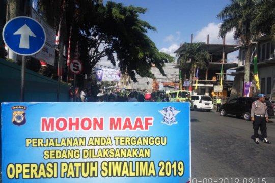 Operasi patuh Kota Ambon jaring 1.280 pelanggar lalu lintas