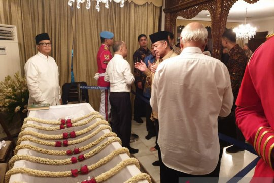 Wagub sampaikan belasungkawa warga Sumbar ke rumah duka BJ Habibie