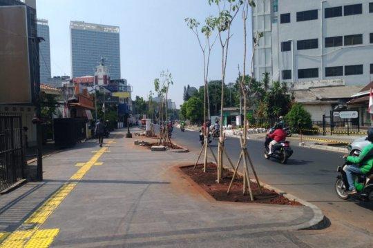 Dua tahun Anies, revitalisasi jalur pedestrian dorong nilai kesetaraan