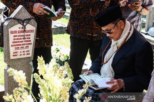 BJ Habibie wafat, 600 polisi kawal prosesi pemakaman