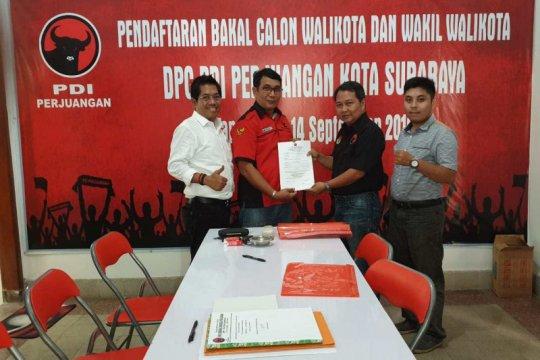 Anugrah Ariyadi optimistis dapat tiket Cawawali Surabaya di PDIP