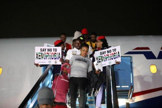 189 warga negara Nigeria diungsikan dari Afrika Selatan