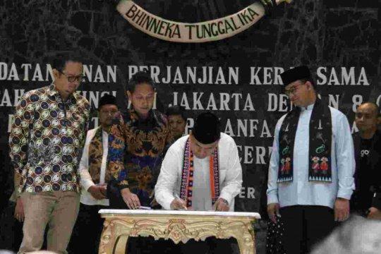 Jakarta jalin kerja sama dengan delapan perusahaan digital