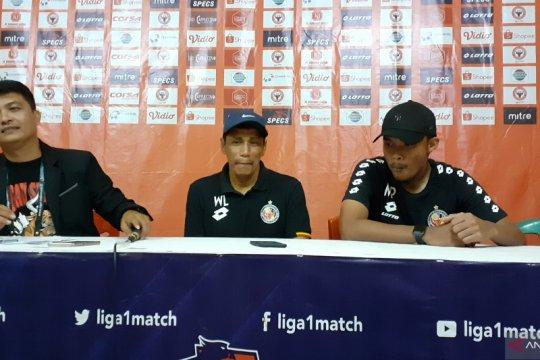 Pelatih sebut Semen Padang kalah lantaran tidak ada penyerang murni