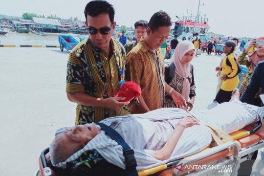 Seorang haji Nunukan wafat saat tiba di rumahnya di Sebatik