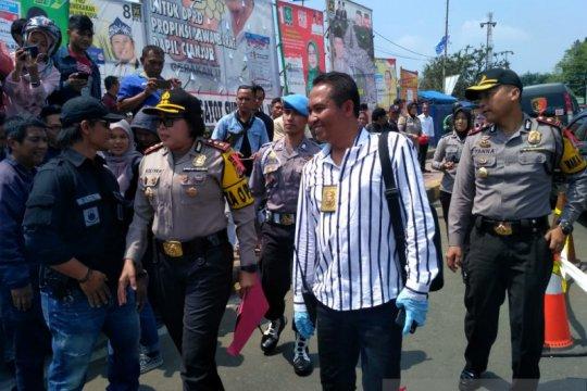 Polres: Tidak ada kesengajaan mahasiswa terkait polisi terbakar