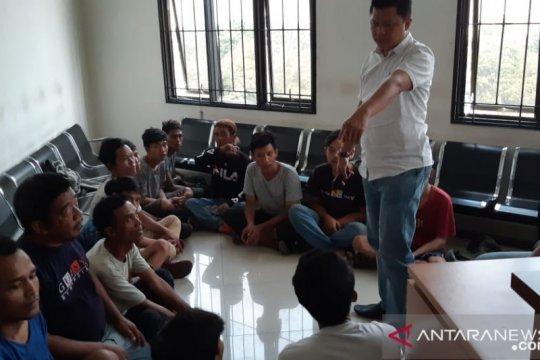 Polisi tangkap 55 preman di Jakarta Pusat