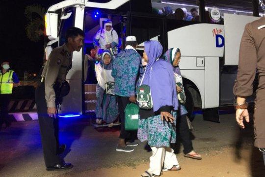 Seorang haji Lampung wafat dalam perjalanan pulang