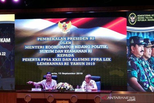 Harapan KPK yang baru - Firli Ketua, Wiranto: Buktikan saja kinerjanya