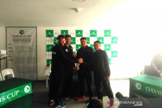 Hasil undian Piala Davis, Rifqy tampil pada pertandingan pembuka