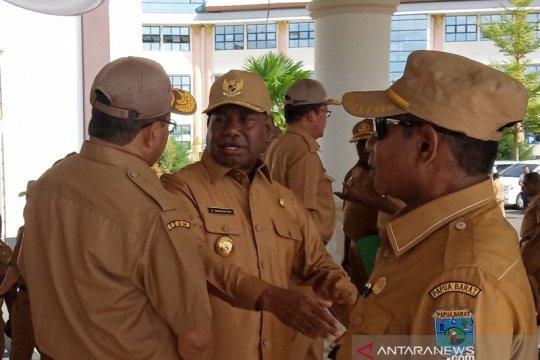 Gubernur Dominggus dukung sembilan aspirasi tokoh Papua di Istana