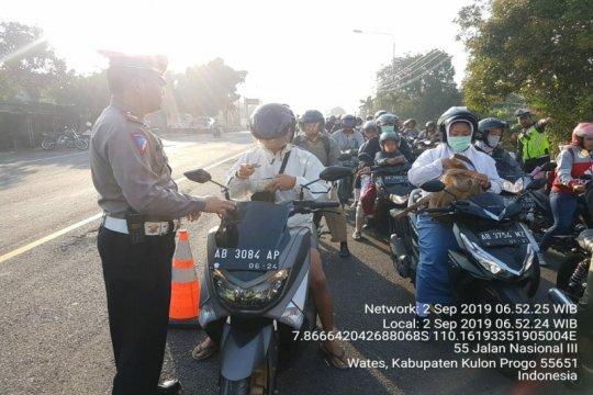 Polres Kulon Progo: 6.365 pelanggaran selama Operasi Patuh Progo 2019
