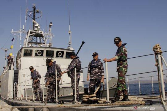 Latihan pengamanan maritim bersama antara Indonesia - Australia