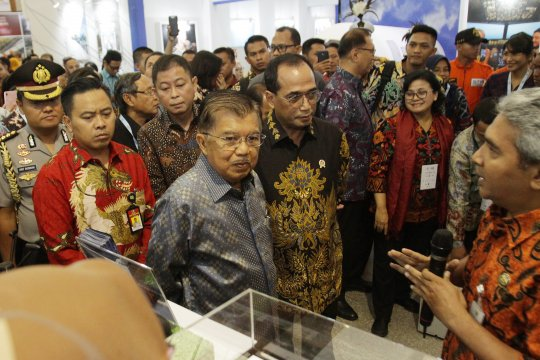 Pembukaan Pameran Indotrans Expo 2019